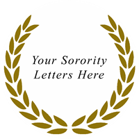 Greek - Sorority Letters