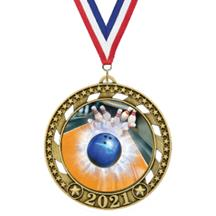 Victory Star 2021 Bowling Medal
