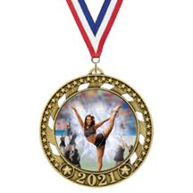 Victory Star 2021 Cheer Medal