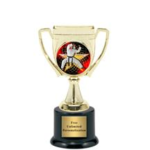 Victory Cup Karate Insert Trophy
