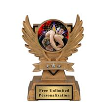 Victory Wing Wrestling Insert Trophy