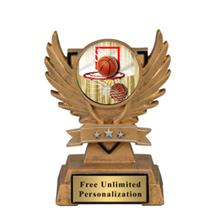 Victory Wing Basketball Insert Trophy