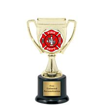 Victory Cup Firefighter Insert Trophy