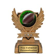 Victory Wing Football Insert Trophy