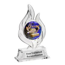 Krystal Flame Gymnastics Trophy