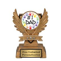 Victory Wing Father's Day Insert Trophy