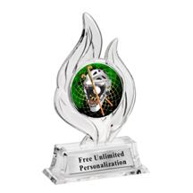 Krystal Flame Field Hockey Insert Trophy