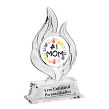 Krystal Flame Mothers Day Insert Trophy