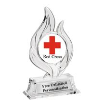 Krystal Flame Red Cross Trophy