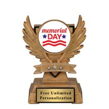 Victory Wing Memorial Day Day Insert Trophy
