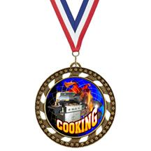 Victory Star Chef Insert Medal