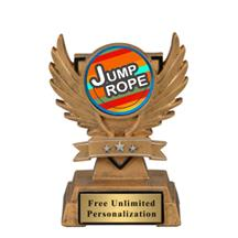Victory Wing Jump Rope Insert Trophy