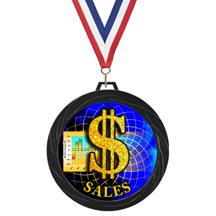 Black Lazer Business Medal
