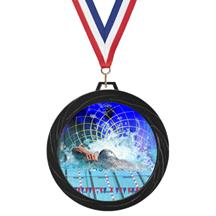Black Lazer Diving Medal