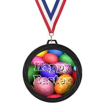Black Lazer Easter Medal