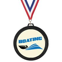 Black Lazer Boating Medal