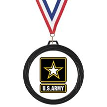 Black Lazer Army Medal