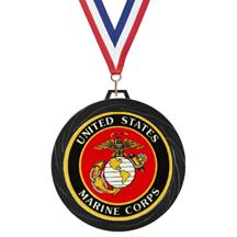 Black Lazer Marines Medal