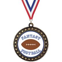 Champion Star Fantasy Football Insert Medal