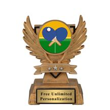 Victory Wing Ping Pong Insert Trophy