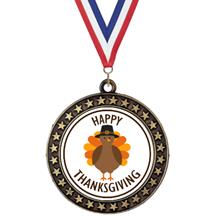 Champion Star Insert Thanksgiving Medal