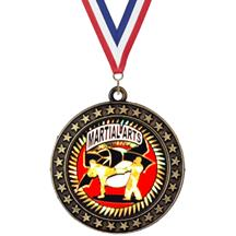 Champion Star Insert Karate Medal