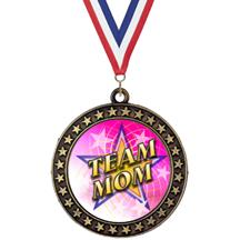 Champion Star Insert Team Mom Medal