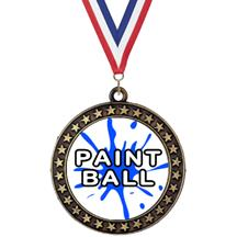 Champion Star Insert Paintball Medal