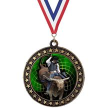 Champion Star Insert Rodeo Medal