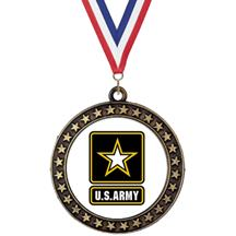Champion Star Insert Army Medal