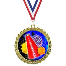 Bright Wreath Insert Cheering Medals