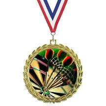 Bright Wreath Insert Darts Medal