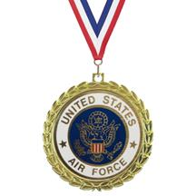 Bright Wreath Insert Air Force Medal