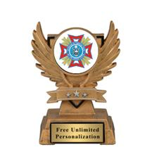 Victory Wing VFW Insert Trophy