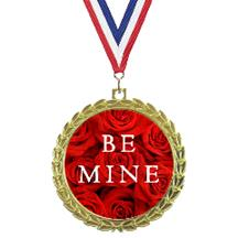 Bright Wreath Insert Valentine's Day Medal