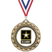 Spin Insert Army Medal