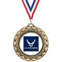 Spin Insert Air Force Medal