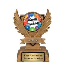 Victory Wing Birthday Insert Trophy