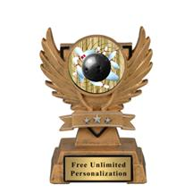 Victory Wing Bowling Insert Trophy
