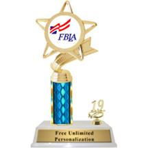 FBLA Column With Trim Insert Trophy