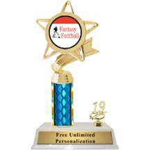Fantasy Football Column With Trim Insert Trophy