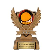 Victory Wing Dodgeball Insert Trophy