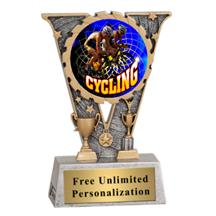 V-Series Cycling Insert Trophy