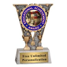 V-Series Education Insert Trophy