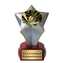 Shooting Star Darts Insert Trophy