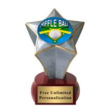 Shooting Star Wiffle Ball Insert Trophy