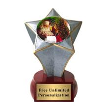 Shooting Star Christmas Insert Trophy