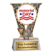 V-Series Memorial Day Insert Trophy