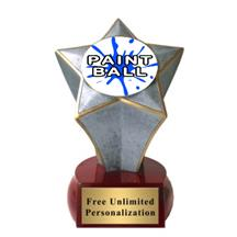 Shooting Star Paintball Insert Trophy