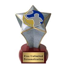 Shooting Star Racquetball Insert Trophy